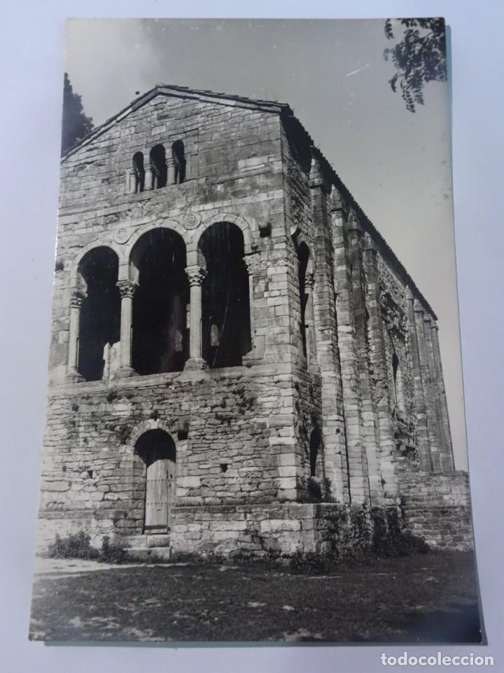 POSTAL FOTOGRÁFICA, OVIEDO, SANTA MARÍA DEL NARANCO, VER FOTOS (Postales - España - Asturias Moderna (desde 1.940))