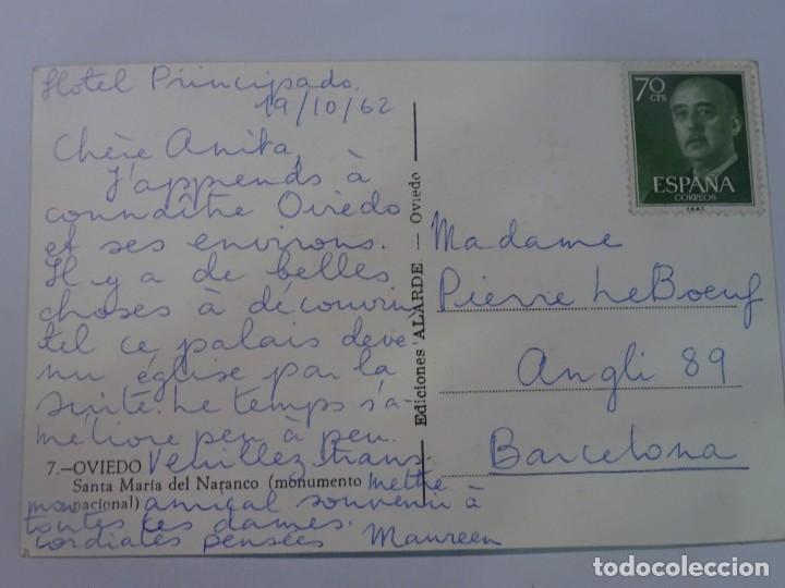 Postales: POSTAL FOTOGRÁFICA, OVIEDO, SANTA MARÍA DEL NARANCO, VER FOTOS - Foto 2 - 222105301
