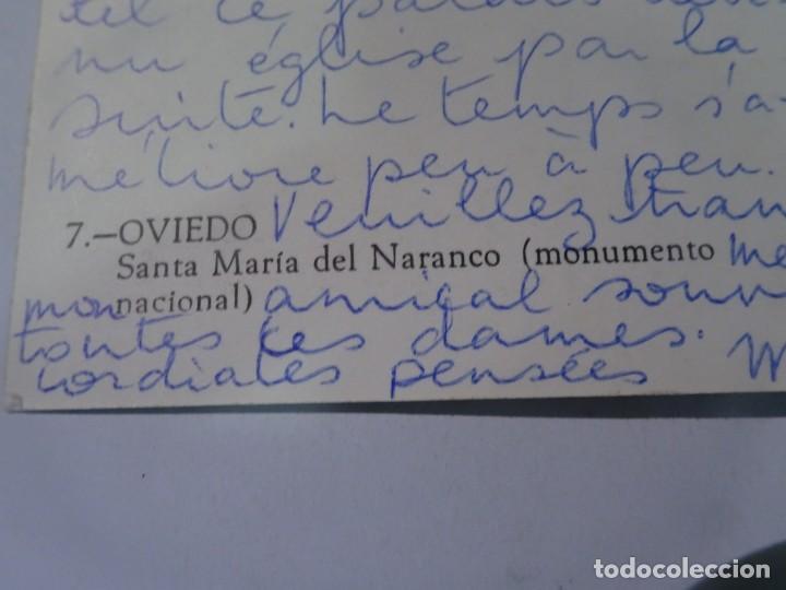 Postales: POSTAL FOTOGRÁFICA, OVIEDO, SANTA MARÍA DEL NARANCO, VER FOTOS - Foto 4 - 222105301