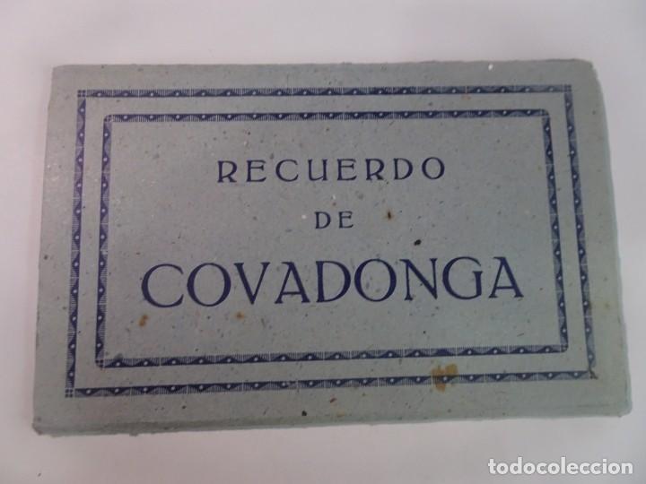 LIBRILLO DE ANTIGUAS POSTALES FOTOGRÁFICAS, COVADONGA, VER FOTOS (Postales - España - Asturias Moderna (desde 1.940))
