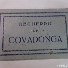 Postales: LIBRILLO DE ANTIGUAS POSTALES FOTOGRÁFICAS, COVADONGA, VER FOTOS. Lote 222106862