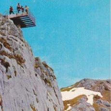 Postales: PICOS DE EUROPA, MIRADOR DEL CABLE - BUSTAMANTE GIF Nº31 - EDITADA EN 1966 - S/C. Lote 222136440