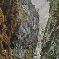 Postales: PICOS DE EUROPA, GARGANTA DEL RÍO CARES - FOTO ALSAR Nº55 - EDITADA EN 1968 - S/C. Lote 222136777