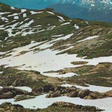 Postales: PICOS DE EUROPA, REBECOS EN LA NIEVE - FOTO BUSTAMANTE GIF Nº74 - EDITADA EN 1968 - S/C. Lote 222136930