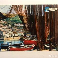 Postales: CUDILLERO (ASTURIAS) POSTAL VISTA PARCIAL, EDIC., PERGAMINO (H.1960?) S/C. Lote 222180801