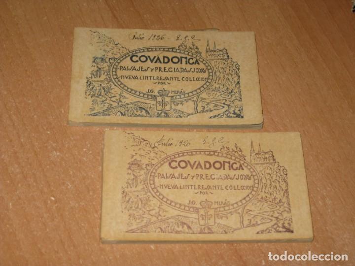 COVADONGA PAISAJES Y PRECIADAS JOYAS NUEVA E INTERESANTE COLECCIÓN (Postales - España - Asturias Antigua (hasta 1.939))