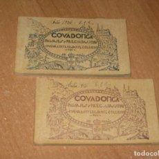 Postales: COVADONGA PAISAJES Y PRECIADAS JOYAS NUEVA E INTERESANTE COLECCIÓN. Lote 222196508