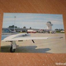 Postales: POSTAL DE AEROPUERTO DE ASTURIAS. Lote 222315612