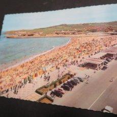 Postales: GIJÓN ASTURIAS PLAYA DE SAN LORENZO 1202. Lote 222720351