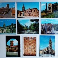 Postales: 9 POSTALES DE OVIEDO (ASTURIAS). Lote 222819397