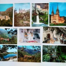 Postales: 10 POSTALES DE COVADONGA (ASTURIAS). Lote 222820407