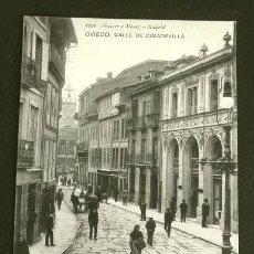 Postales: OVIEDO (CAPITAL) CALLE CIMADEVILLA (AÑO 1908) CIRCULADA - ED. HAUSER Y MENET - ASTURIAS. Lote 223977455