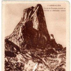 Postales: PRECIOSA POSTAL - CABRALES (ASTURIAS) PICOS DE EUROPA - DONDE SE FABRICA EL AFAMADO QUESO - ALBERGUE. Lote 225950975