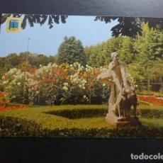 Postales: GIJON ASTURIAS MONUMENTO A LOS LOBOS PARQUE. Lote 227774965
