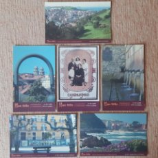 Postales: LOTE 6 POSTALES SAN FÉLIX. MARAÑUELES Y CANDASINOS. CANDÁS. ASTURIAS. 2003. SIN CIRCULAR.. Lote 229381335