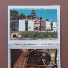 Postales: ALBUM DESPLEGABLE 10 POSTALES. MUSEO DE LA MINERÍA Y LA INDUSTRIA. ASTURIAS. MORO. ESCUDO DE ORO.. Lote 229566785