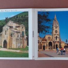 Postales: ALBUM DESPLEGABLE 10 POSTALES. OVIEDO. ASTURIAS. MORO. ESCUDO DE ORO.. Lote 229567350
