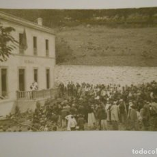 Postales: INAUGURACION DE LA ESCUELA DEL AVE MARIA. FORCINAS 1913. ASTURIAS. POSTAL ESCRITA.. Lote 229611110