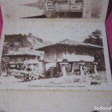 Postales: 8 FOTOGRAFIAS ANTIGUAS RECUERDO DE COVADONGA ASTURIAS. Lote 230295170