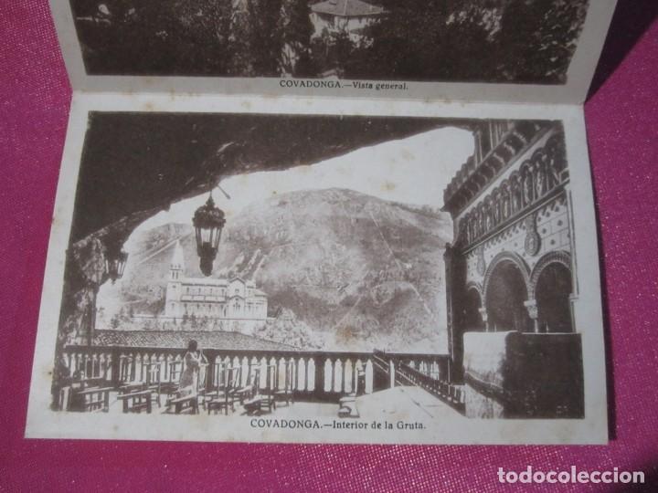 Postales: 8 FOTOGRAFIAS ANTIGUAS RECUERDO DE COVADONGA ASTURIAS - Foto 4 - 230295170
