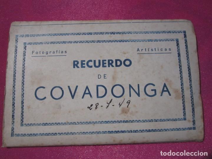 Postales: 8 FOTOGRAFIAS ANTIGUAS RECUERDO DE COVADONGA ASTURIAS - Foto 2 - 230295170