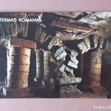 Cartoline: POSTAL 16355 PERGAMINO. TERMAS ROMANAS. GIJÓN. ASTURIAS. 1970. SIN CIRCULAR.. Lote 231218655