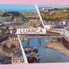Postales: POSTAL-LUARCA-ASTURIAS-ESPAÑA-1957-FARO,ATALAYA Y RÍO NEGRO-S/C-S/ESCRIBIR-NOS. Lote 232689835