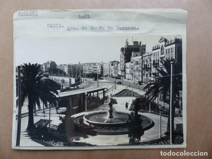 CADIZ - 12 CLICHES ORIGINALES - NEGATIVOS EN CELULOIDE - EDICIONES ARRIBAS (Postales - España - Asturias Antigua (hasta 1.939))