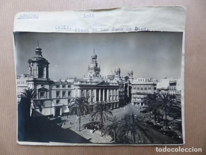 Postales: CADIZ - 12 CLICHES ORIGINALES - NEGATIVOS EN CELULOIDE - EDICIONES ARRIBAS - Foto 7 - 234348800
