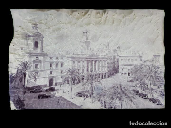 Postales: CADIZ - 12 CLICHES ORIGINALES - NEGATIVOS EN CELULOIDE - EDICIONES ARRIBAS - Foto 8 - 234348800