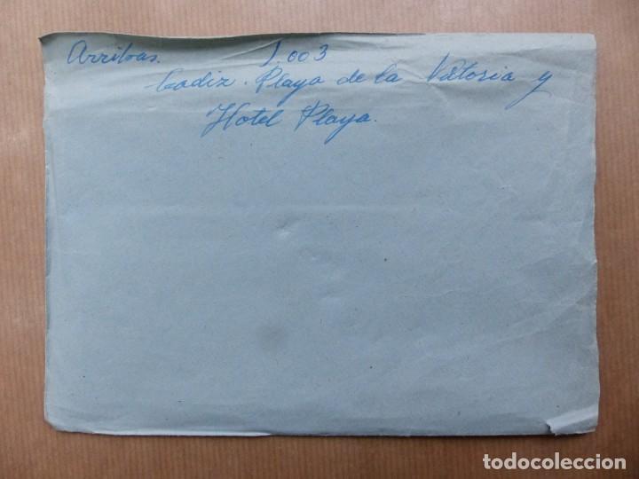 Postales: CADIZ - 12 CLICHES ORIGINALES - NEGATIVOS EN CELULOIDE - EDICIONES ARRIBAS - Foto 25 - 234348800