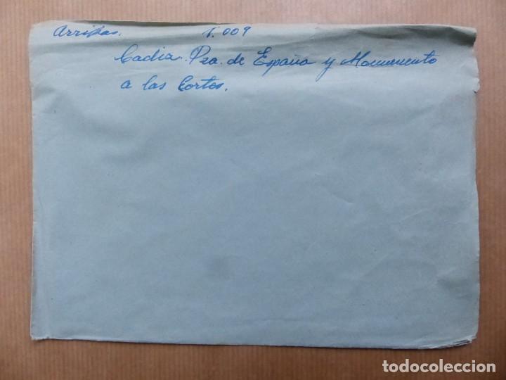 Postales: CADIZ - 12 CLICHES ORIGINALES - NEGATIVOS EN CELULOIDE - EDICIONES ARRIBAS - Foto 28 - 234348800