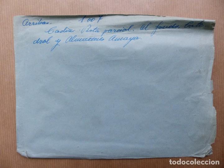 Postales: CADIZ - 12 CLICHES ORIGINALES - NEGATIVOS EN CELULOIDE - EDICIONES ARRIBAS - Foto 34 - 234348800