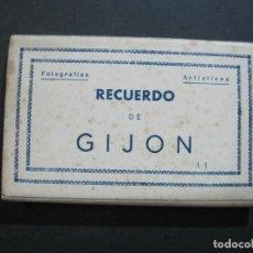 Postales: GIJON-BLOC CON 10 POSTALES ANTIGUAS FOTOGRAFICAS-EDICIONES ARRIBAS-VER FOTOS-(76.816). Lote 234967690
