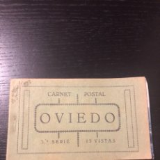 Postales: LIBRO POSTALES CARNET POSTAL 15 VISTAS OVIEDO. Lote 235163405
