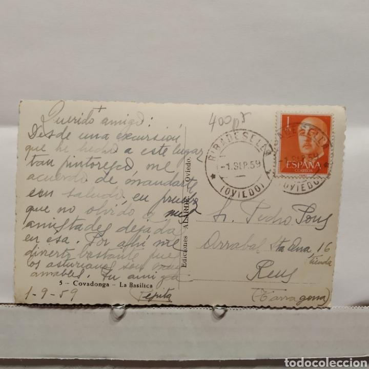 Postales: 5 Covadonga, La Basílica, Ediciones Alarde - Foto 2 - 235551585