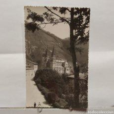 Postales: 5 COVADONGA, LA BASÍLICA, EDICIONES ALARDE. Lote 235551585