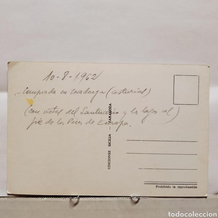 Postales: Covadonga, Cuesta de la Picota, Lago la Ercina, Lago Enol, Ediciones Sicilia - Foto 2 - 235552500