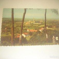 Postales: GIJON . LA UNIVERSIDAD LABORAL DESDE EL INFANZON. GARRABELLA , CIRCULADA.. Lote 235583365