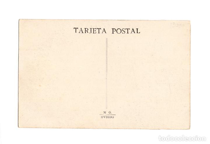 Postales: OVIEDO.(ASTURIAS).- PLAZA, CALLE Y CARRETERA DE SANTO DOMINGO. - Foto 2 - 235792900