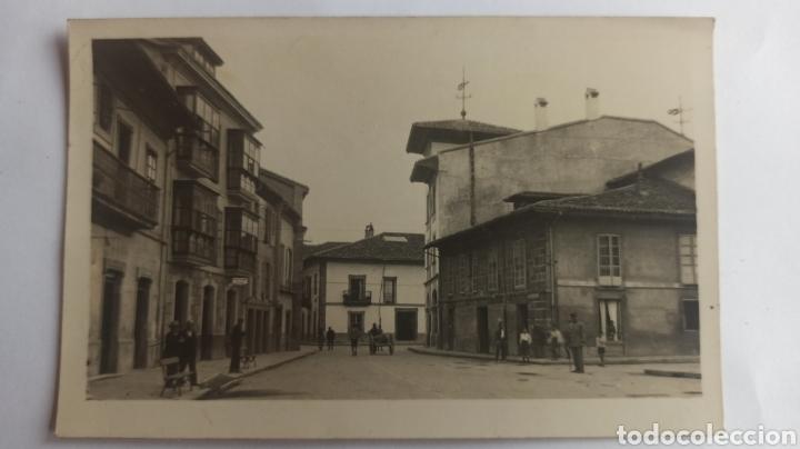 FOTOGRAFÍA POSTAL VILLAVICIOSA, ASTURIAS. SIN CIRCULAR. (Postales - España - Asturias Antigua (hasta 1.939))