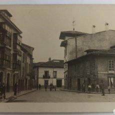 Postales: FOTOGRAFÍA POSTAL VILLAVICIOSA, ASTURIAS. SIN CIRCULAR.. Lote 238439925