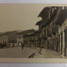Postales: FOTOGRAFÍA POSTAL, VILLAVICIOSA, ASTURIAS. SIN CIRCULAR.. Lote 238441410
