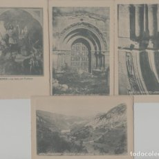 Cartes Postales: LOTE K-POSTALES ANTIGUAS COVADONGA ASTURIAS. Lote 240823105