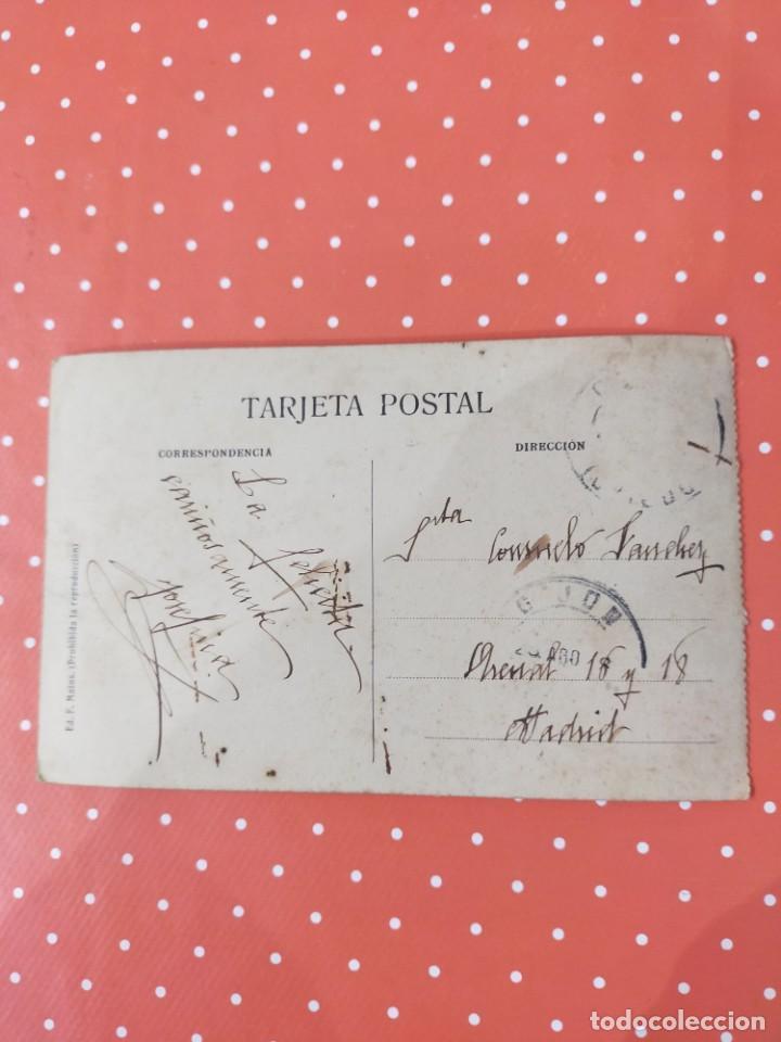 Postales: Tarjeta Postal antigua con foto de la calle Jovellanos en Gijón. - Foto 2 - 241300025