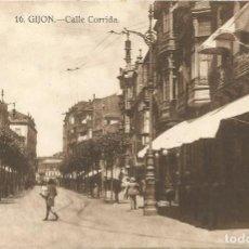 Postales: GIJON. - CALLE CORRIDA, Nº16. SIN CIRCULAR. GRAFOS.. Lote 241920335