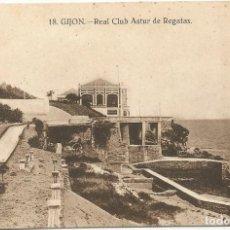 Postales: GIJON. - REAL CLUB ASTUR DE REGATAS. Nº18. GRAFOS. SIN CIRCULAR.. Lote 241920685