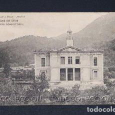 Postales: POSTAL ASTURIAS CANGAS DE ONIS CASA CONSISTORIAL - HAUSER Y MENET CA 1900. Lote 243027295