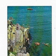 Cartes Postales: TARJETA POSTAL. SALINAS. ASTURIAS. ACANTILADO. TRAMPOLINES. 9 . GARCÍA GARRABELLA Y CIA. Lote 243549265