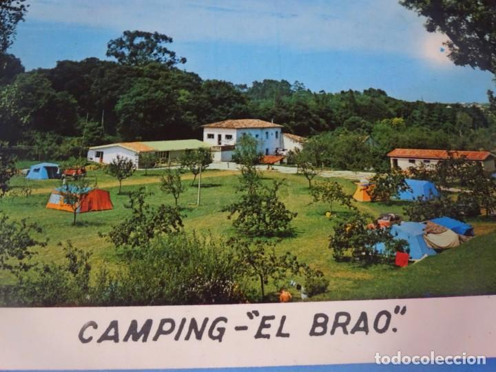 Postales: ANTIGUA POSTAL CPSM, CAMPING EL BRAO, ASTURIAS, VER FOTOS - Foto 2 - 243625015